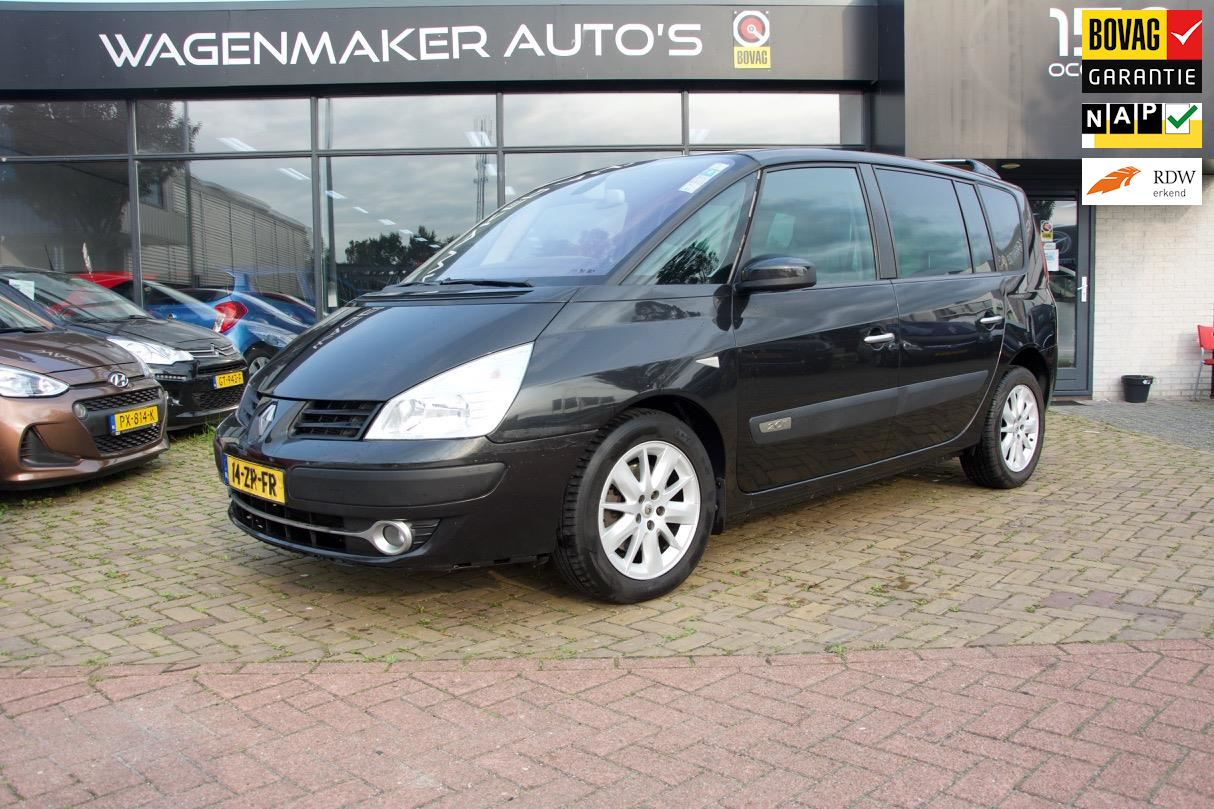 Renault Espace occasion - Wagenmaker Auto's