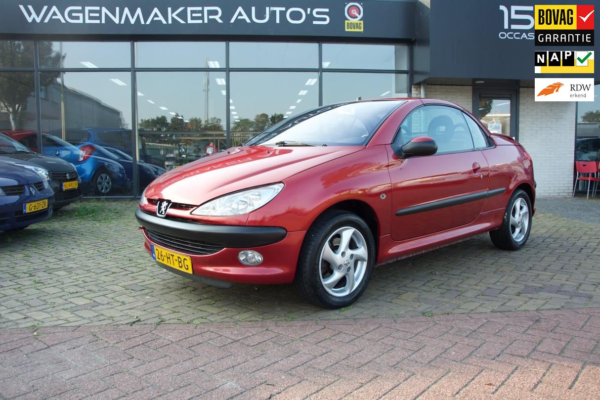 Peugeot 206 CC occasion - Wagenmaker Auto's