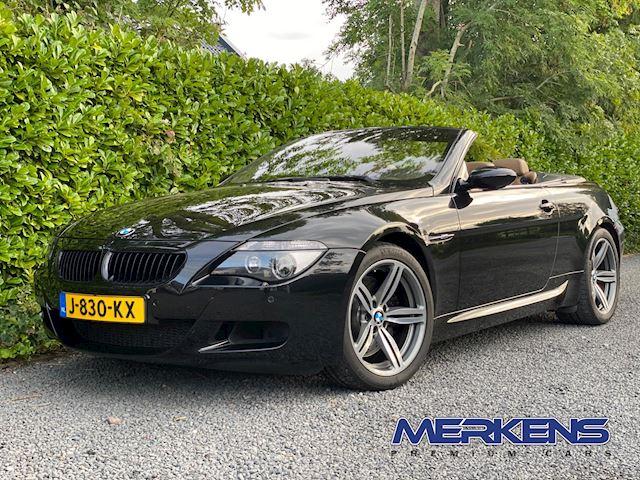 BMW 6-serie Cabrio M6 V10 507PK SMGIII Youngtimer!
