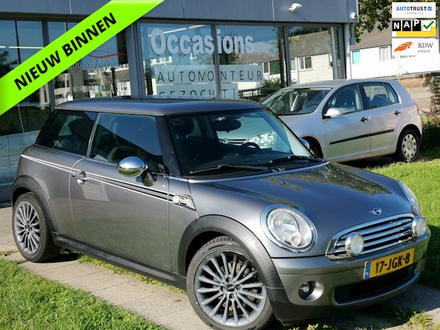 Mini Mini 1.4 One Earl Grey |AIRCO|START/STOP|ELEK.RAMEN|APK|NAP