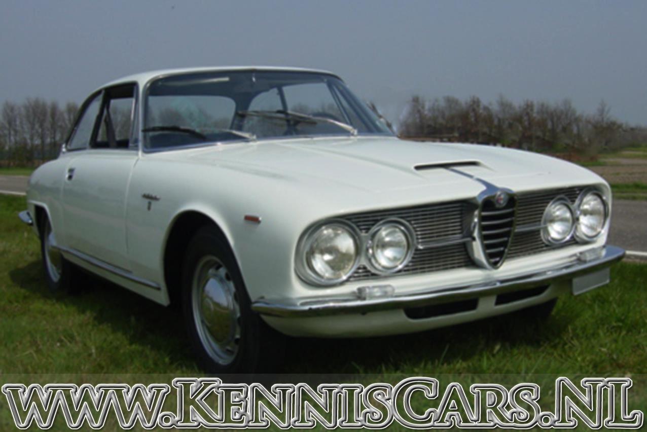Alfa Romeo 1967  2600 Sprint occasion - KennisCars.nl