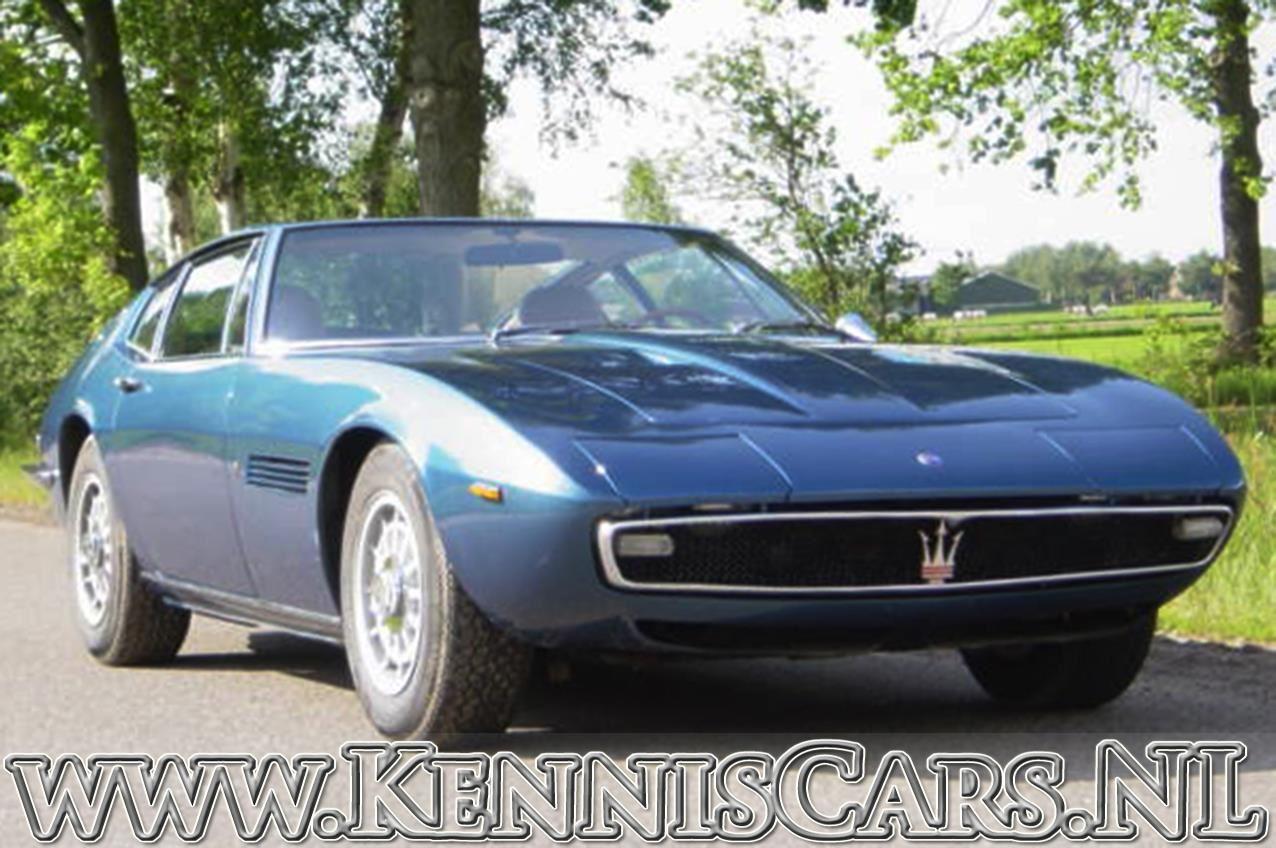 Maserati 1970  Ghibli occasion - KennisCars.nl