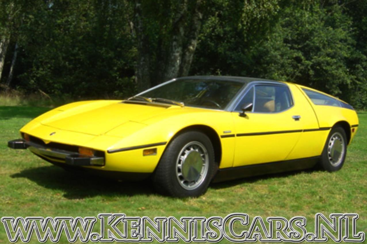 Maserati 1973  Bora occasion - KennisCars.nl