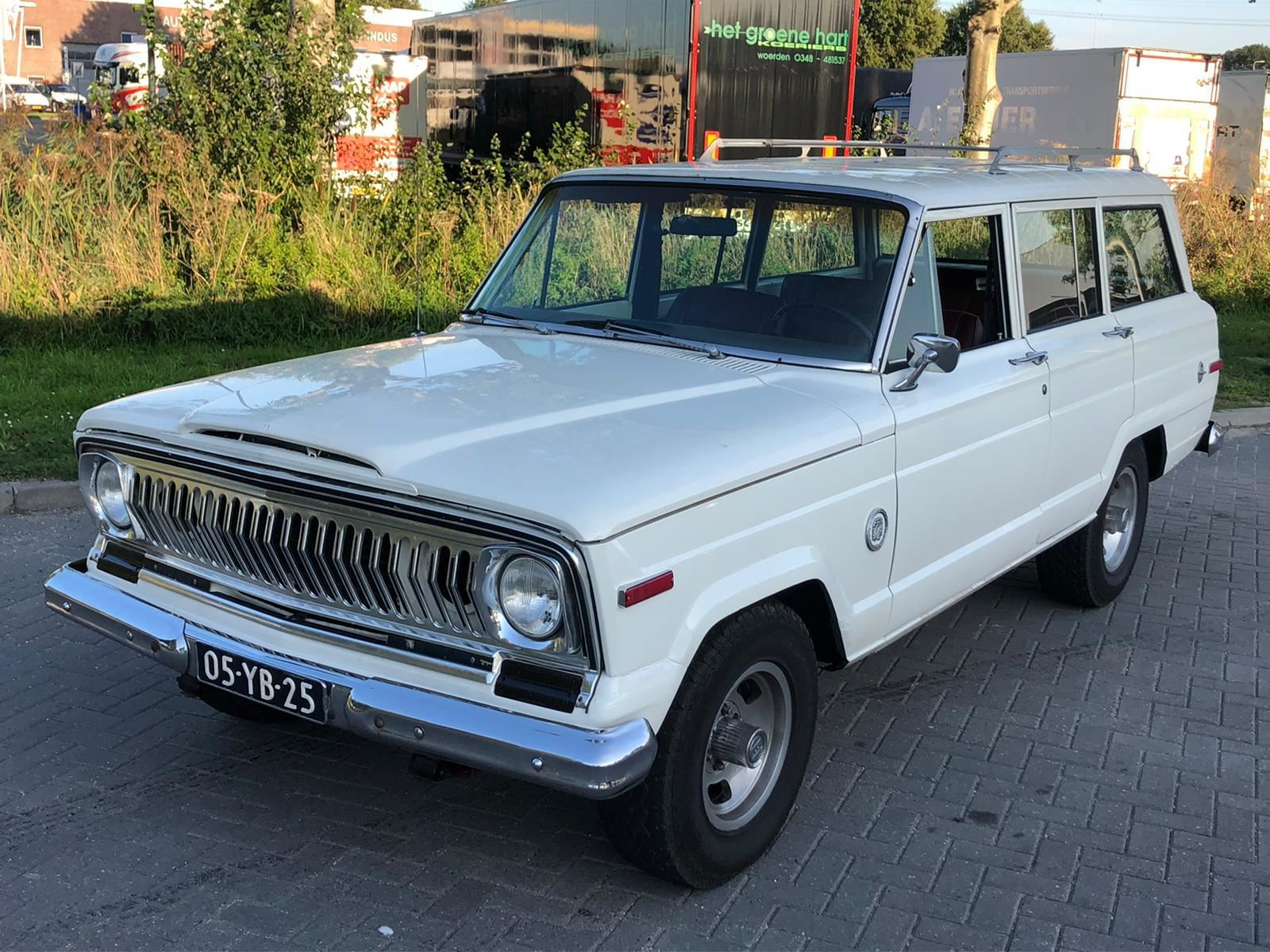 Jeep Wagoneer occasion - Autobedrijf Oudewater
