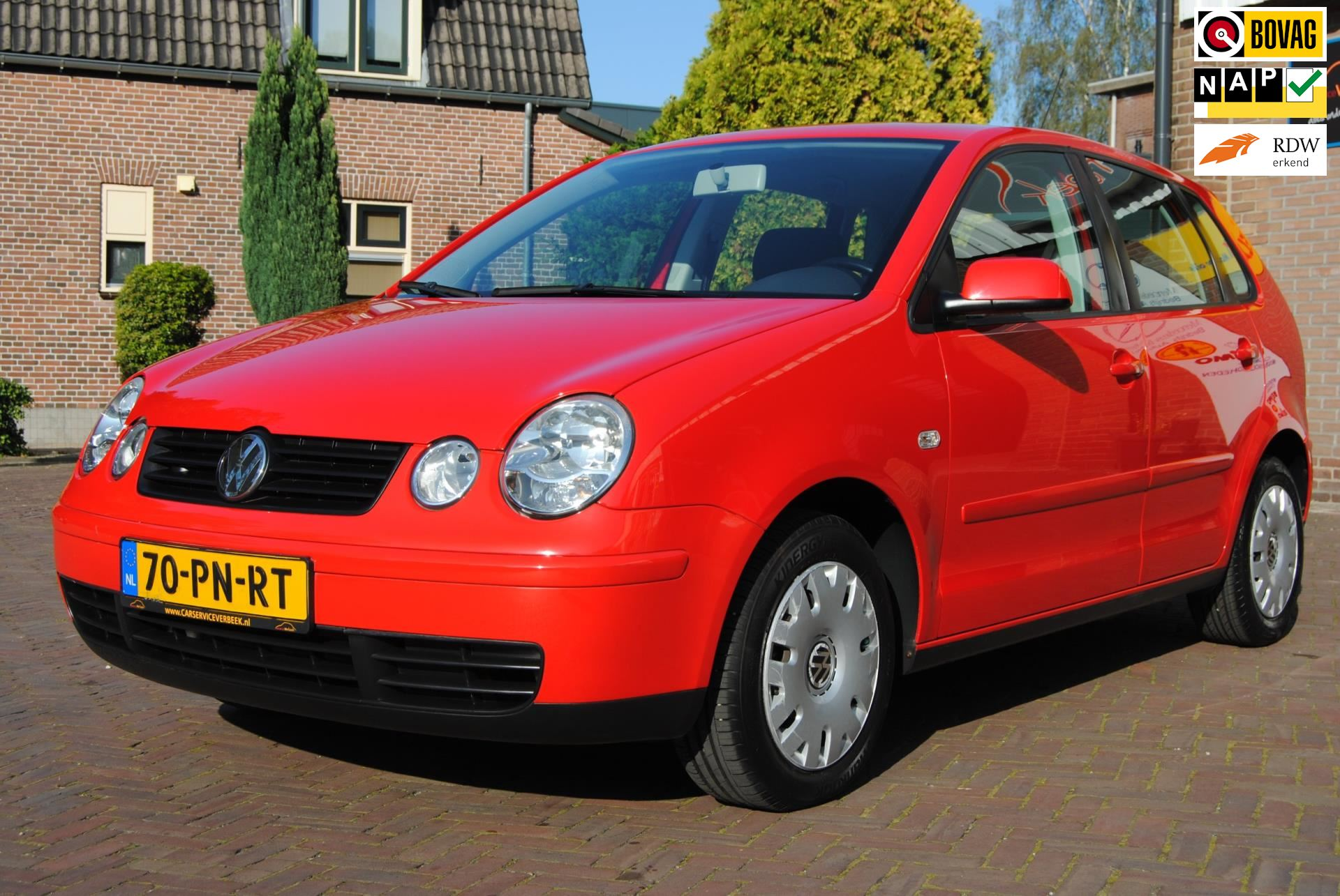 Volkswagen Polo occasion - Carservice Verbeek