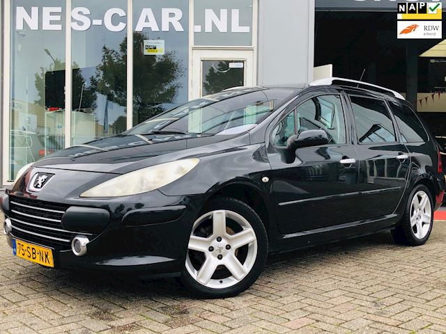 Peugeot 307 SW 2.0-16V XSi Automaat, Panodak, Cruise, Clima, Nette Staat!!