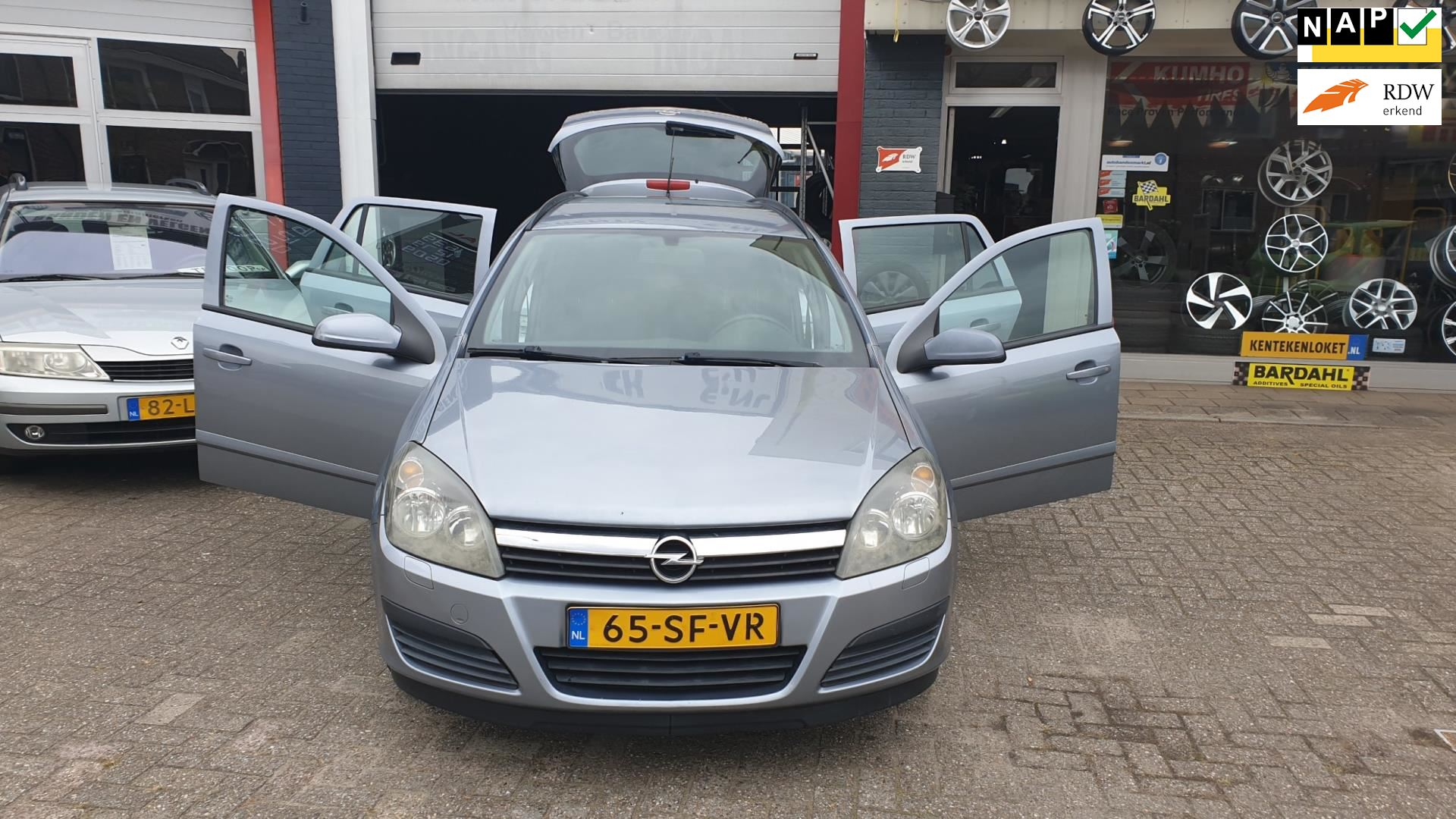 Opel Astra Wagon occasion - Kentyre Quickservice