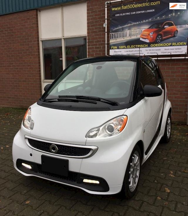 Smart Fortwo Electric drive edition greenflash prime