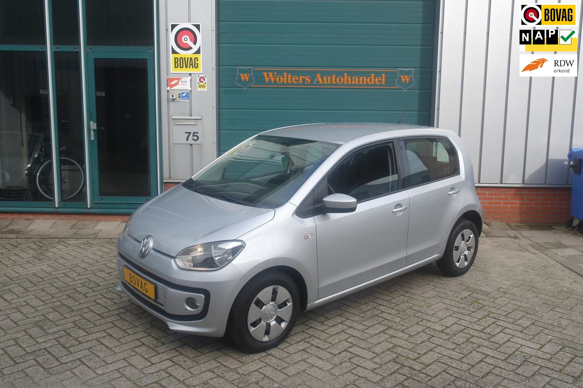 Volkswagen Up occasion - Wolters Autohandel