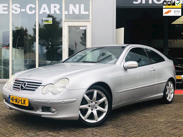 Mercedes-Benz C-klasse Sportcoupé 180 K. Amice, Young-timer, Cruise Cr, Airco, Nette Staat!!