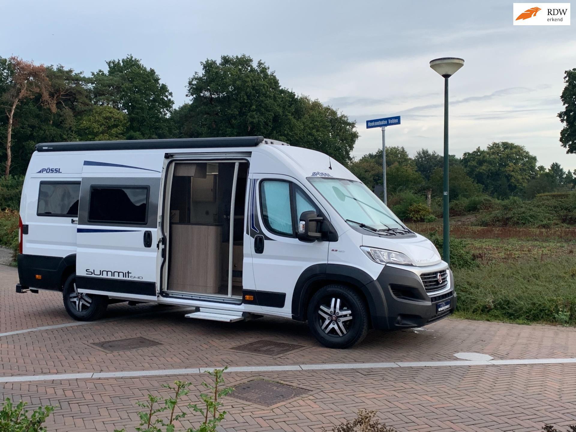 Possl Summit 640-Automaat-Zeer exclusief-1e Eig-11.405 km-Bomvol-Nieuwstaat occasion - Eric van Aerle Auto's