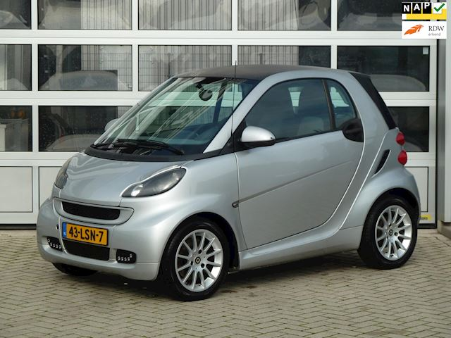 Smart Fortwo coupé 1.0 mhd Pure Plus bj.2010 Automaat|Nap.