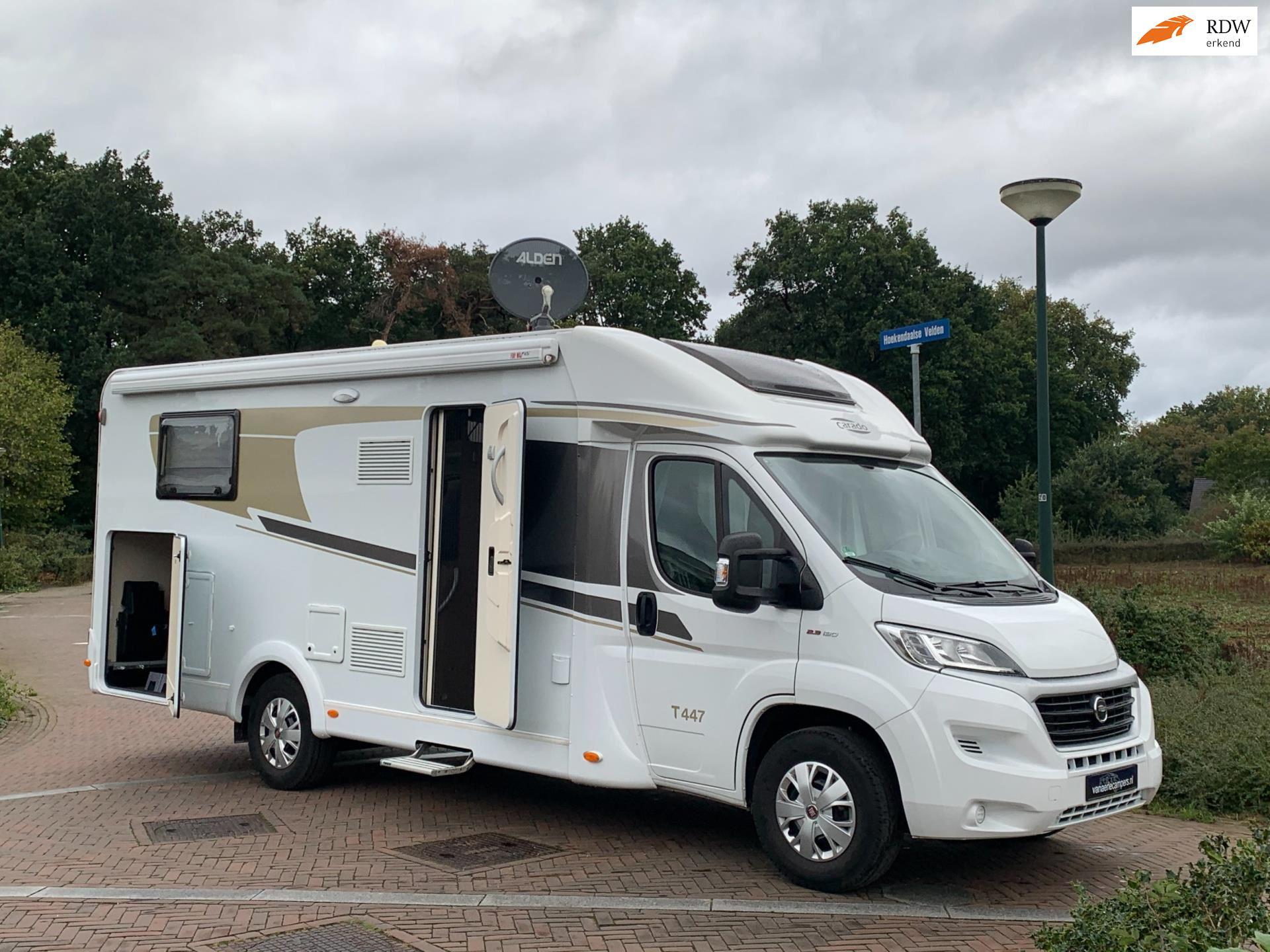 Hymer Carado T 447-Enkele bedden-2018-Bomvol-Nieuwstaat-1e Eig. occasion - Eric van Aerle Auto's