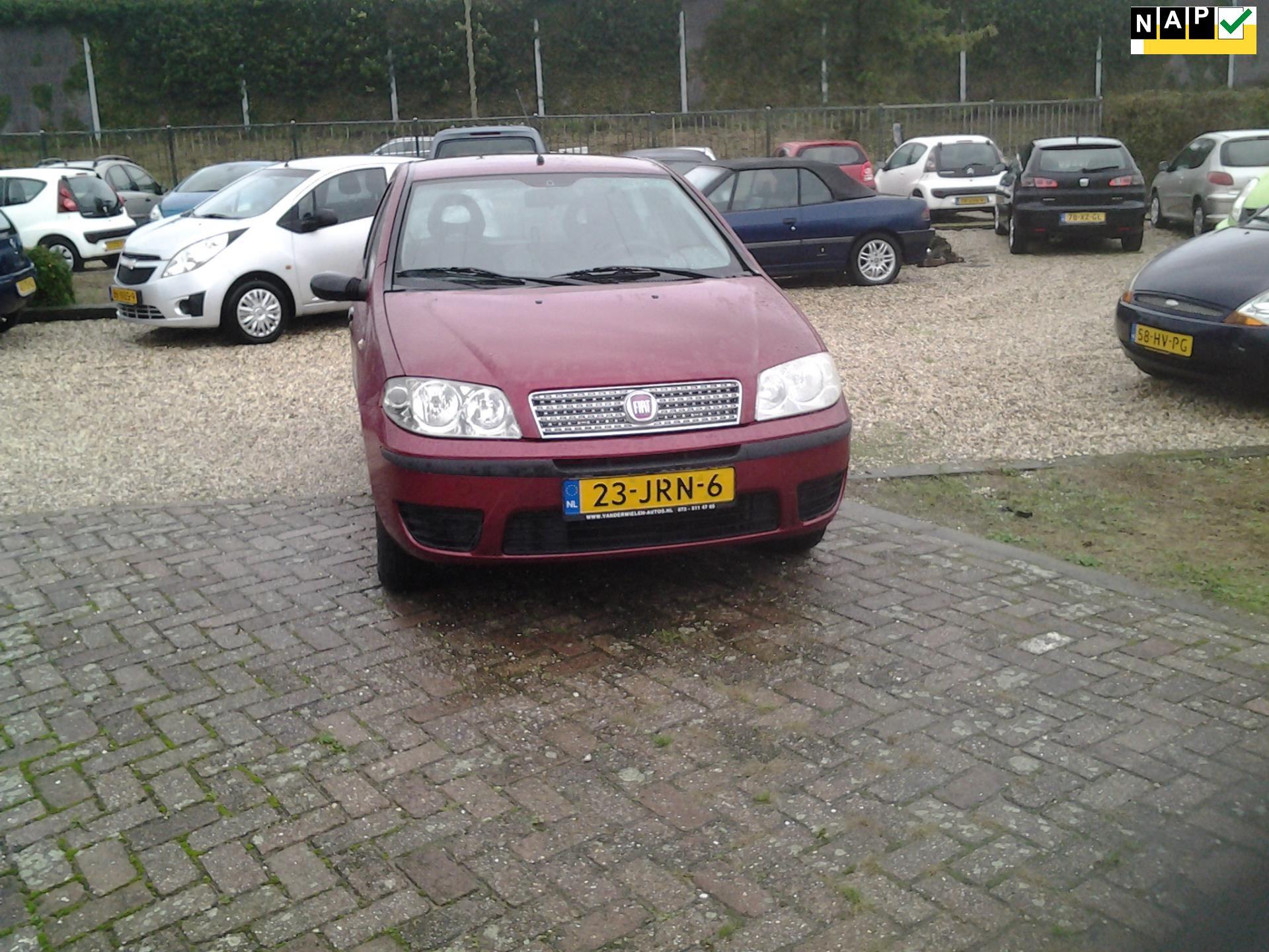 Fiat Punto occasion - Van der Wielen Auto's