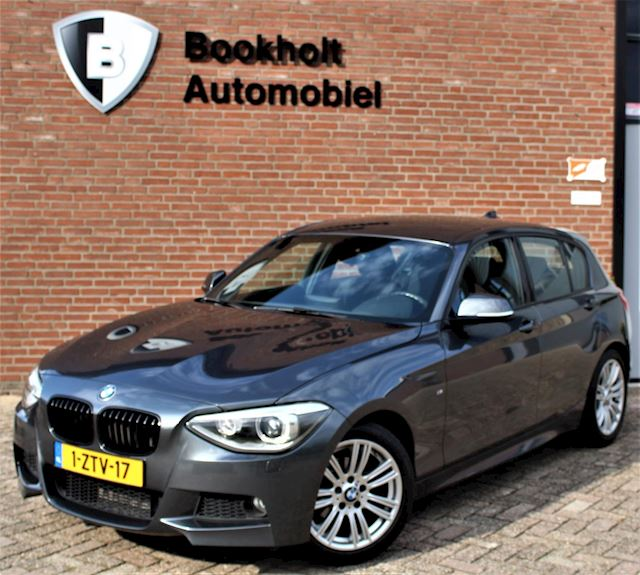 BMW 1-serie 1.6i M-sport (220 PK optie bij aflevering), trekhaak, Navi Professional