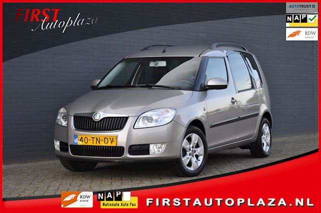 Skoda Roomster 1.4-16V Comfort AIRCO/CRUISE/CLIMATE/HALF-LEDER NIEUWSTAAT !