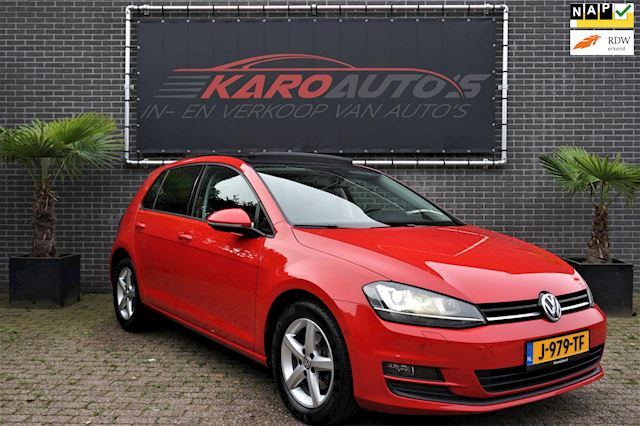 Volkswagen Golf 1.4 TSI Highline DSG Pano Navi Camera 1e Eig