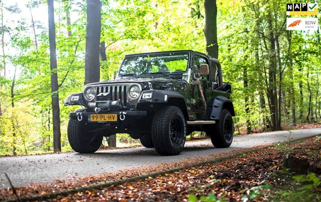 Jeep Wrangler occasion - Auto Berens