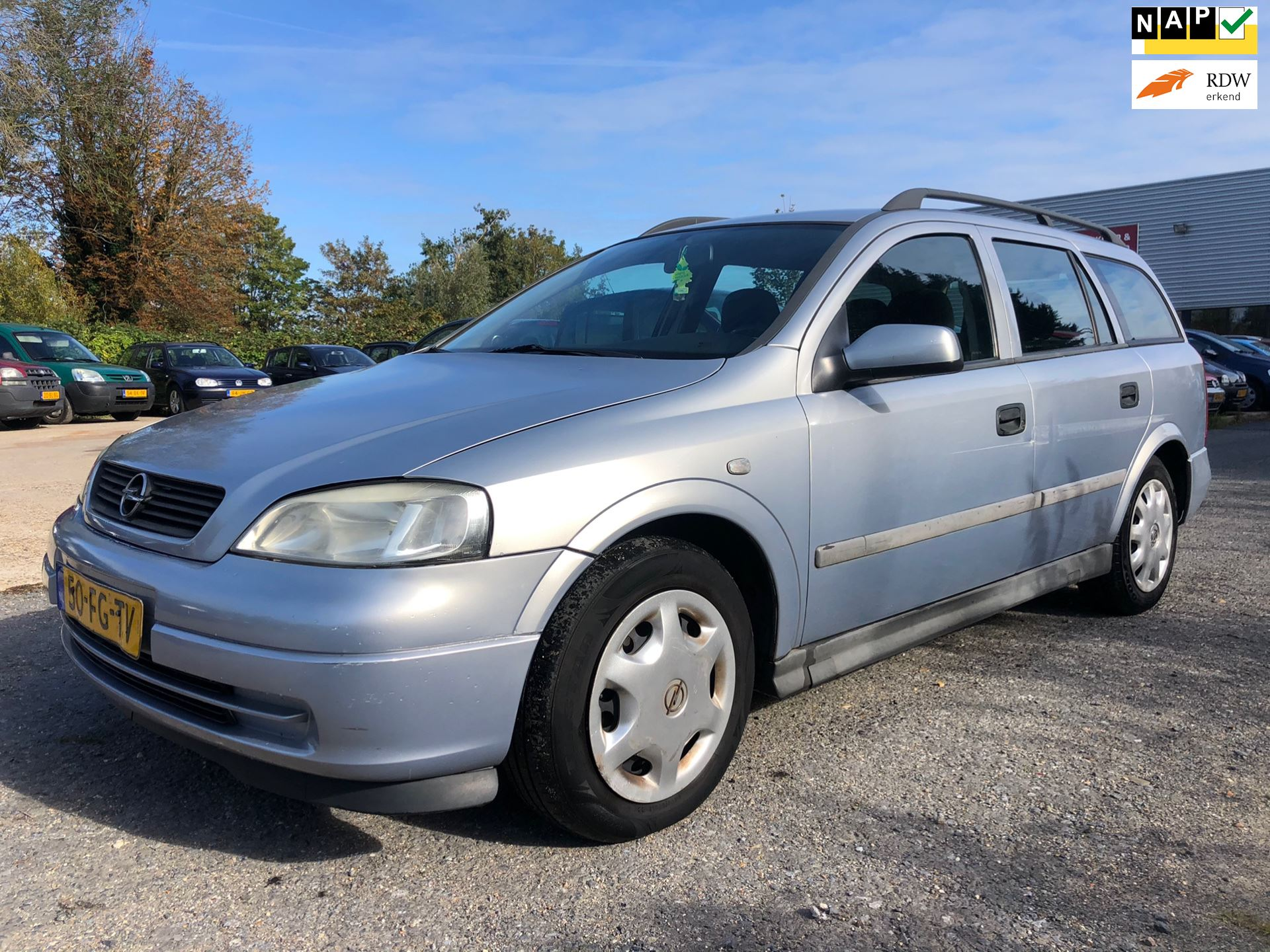 Opel Astra Wagon occasion - Limited Car