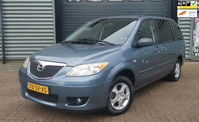 Mazda MPV 2.3 Active 2006 6P. Blauw AIRCO*NAP*NIEUWE APK
