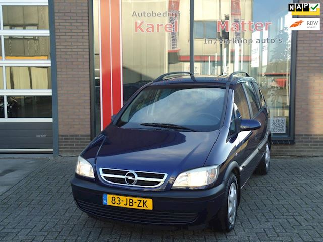 Opel Zafira 1.8-16V Comfort *7 PERSOONS* *TREKHAAK* *SCHUIFDAK*