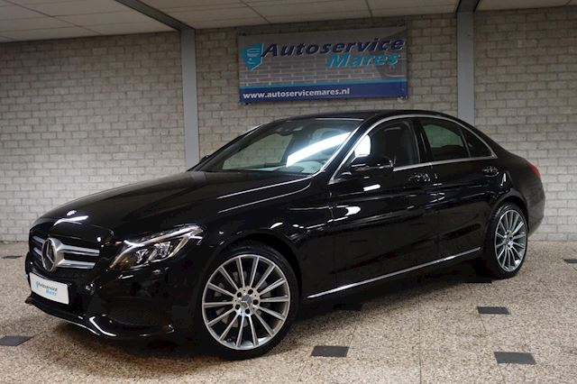 "Mercedes-Benz C-klasse 250 Avantgarde, Aut. 360 camera, adapt cruise, Head up, burmester, standkachel,leder, full map navi, 19""LM"