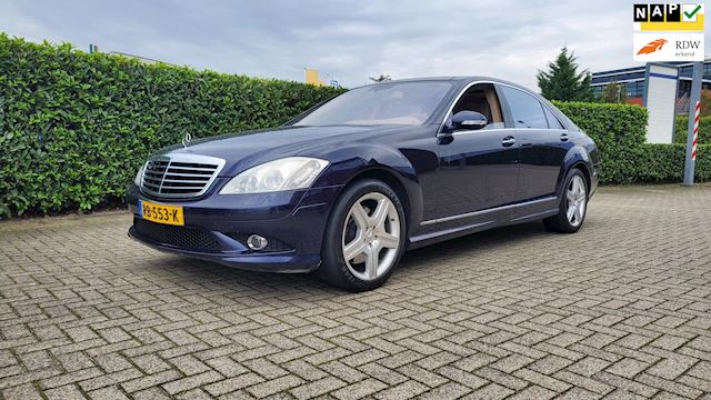 Mercedes-Benz S-klasse 500 4Matic Lang AMG pakket 381pk Night Vision Massage