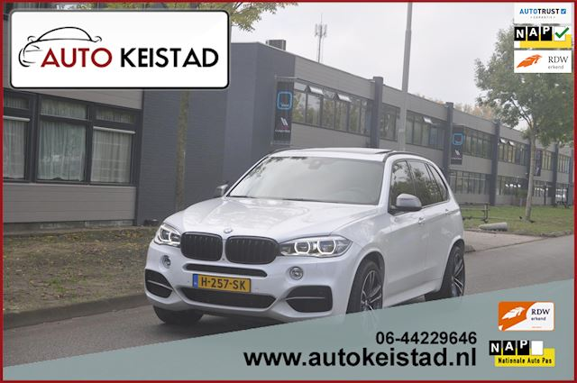 BMW X5 M50D 381PK PANORAMA/SOFTCLOSE! M-PERFORMANCE! NETTE STAAT!