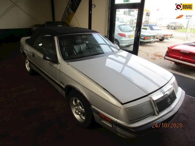 Chrysler LeBaron 2.2 Turbo Convertible auto loopt niet