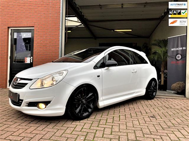 Opel Corsa 1.4-16V LIMITED/OPC/ CRUISE/ LEER/ CLIMATE/ USB/ AUX/ APK