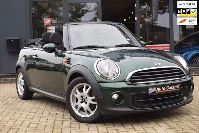 Mini Mini Cabrio 1.6 One Pepper/bi xenon/pdc/nette kap