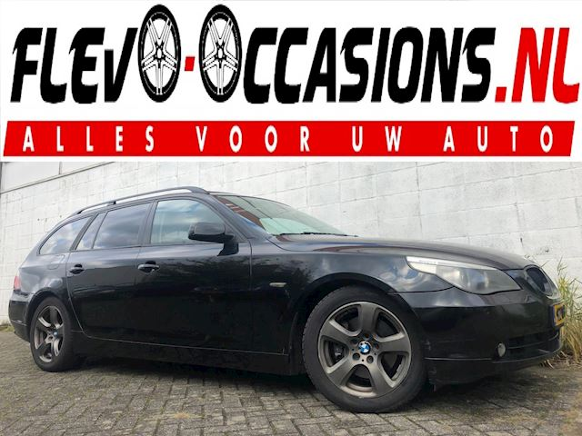 BMW 5-serie Touring 530d High Executive Automaat NWE APK Pano Dak Leer Xenon Trekhaak