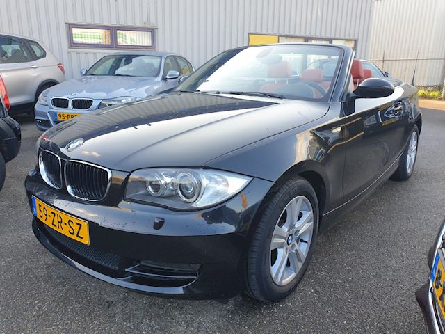 BMW 1-serie Cabrio 118i High Executive Leder Xenon  93287 Km.