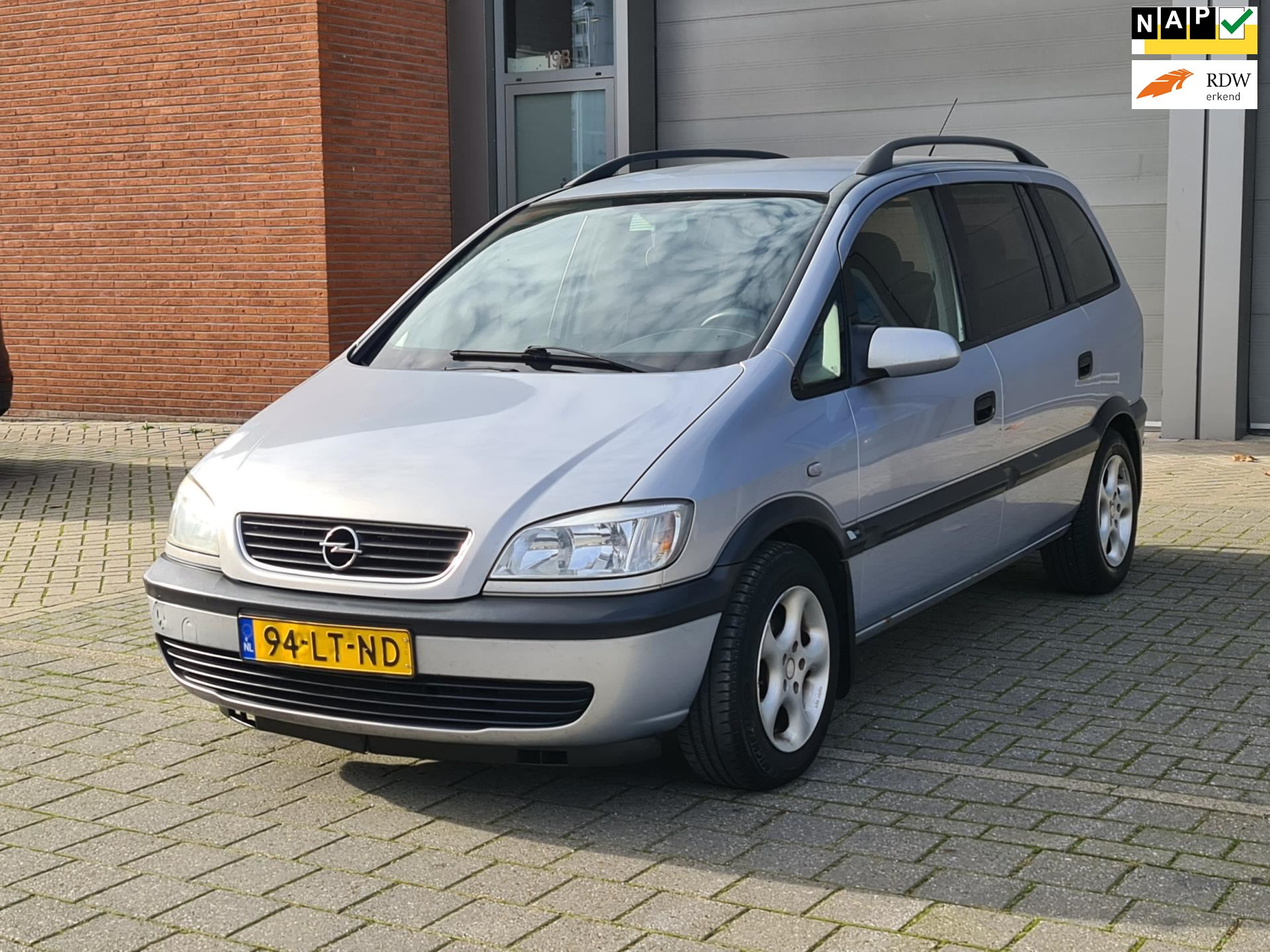 Opel Zafira occasion - Staal Cars