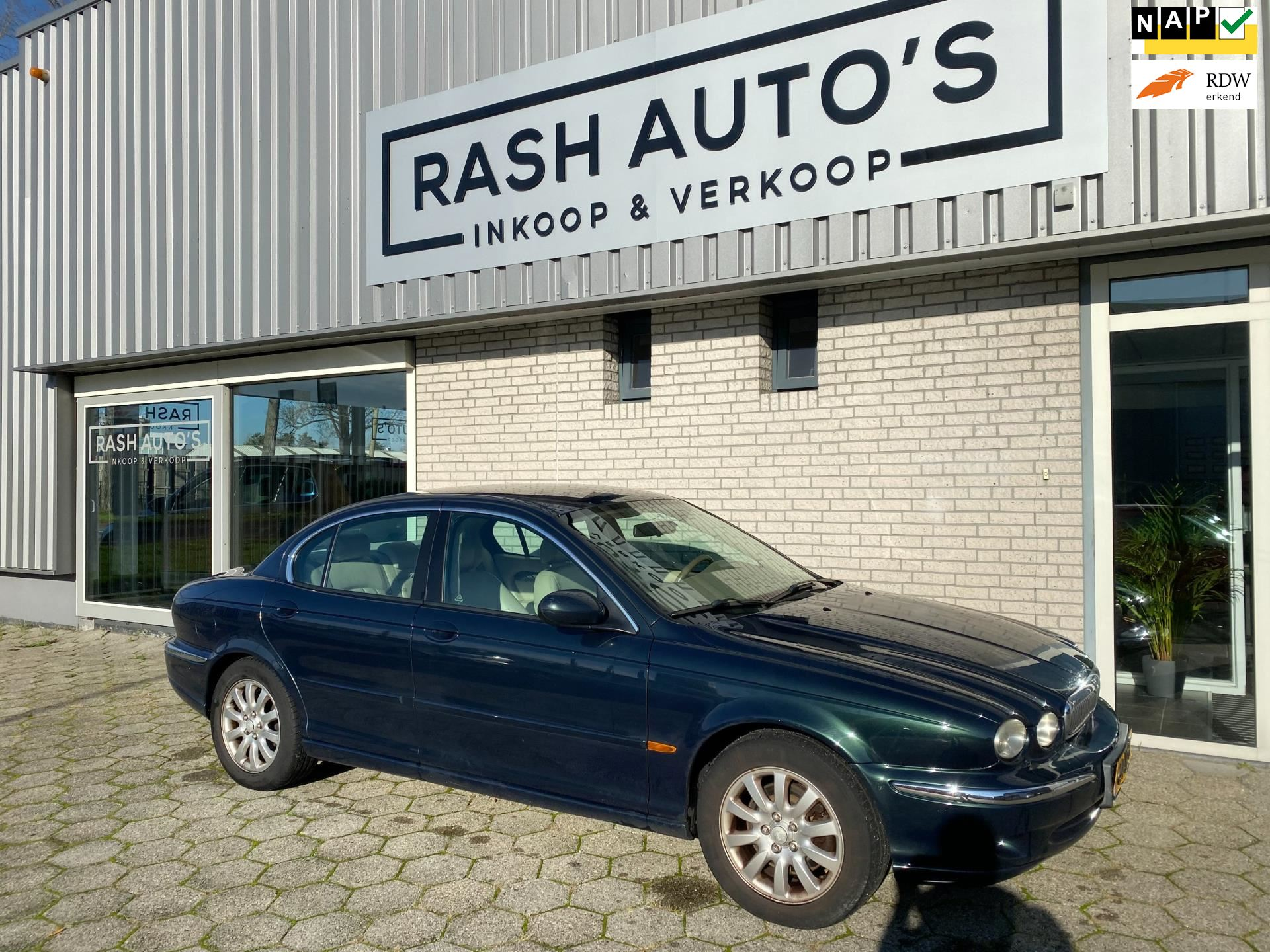 Jaguar X-type occasion - RASH AUTO'S