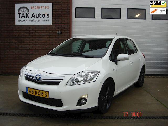Toyota Auris 1.8 Full Hybrid Executive/Wit/Airco/Leer/Navi/Camera/met boekjes en NAP/1e eigenaar