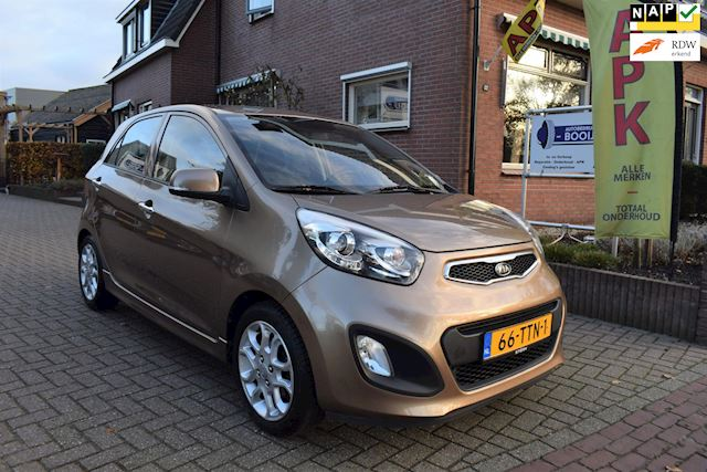 Kia Picanto 1.2 CVVT Comfort Pack/5 DRS/CLIMA/KEYLESS/BLUETOOTH/NETTE STAAT!