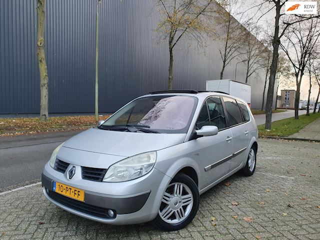 Renault Grand Scénic 2.0-16V/AUTOMAAT/7PERS/PANO/CRUISE/LEDER/ 2 X SLEUTELS