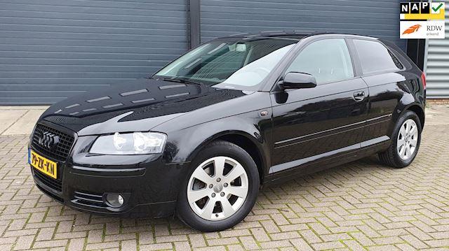 Audi A3 1.4 TFSI 92KW 3D 2008 Zwart NAP*NIEUWE APK*LEDER