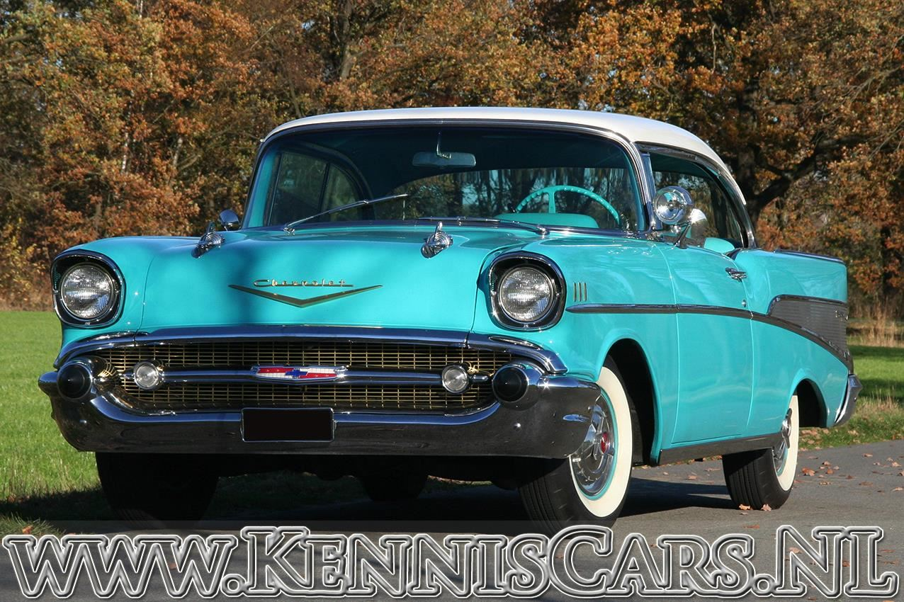 Chevrolet 1957 Bel Air Sport Coupe occasion - KennisCars.nl