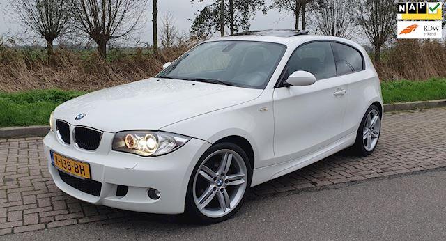 BMW 1-serie 2.0 118I 3DR 2008 Wit M-PAKKET FULL OPTIONS