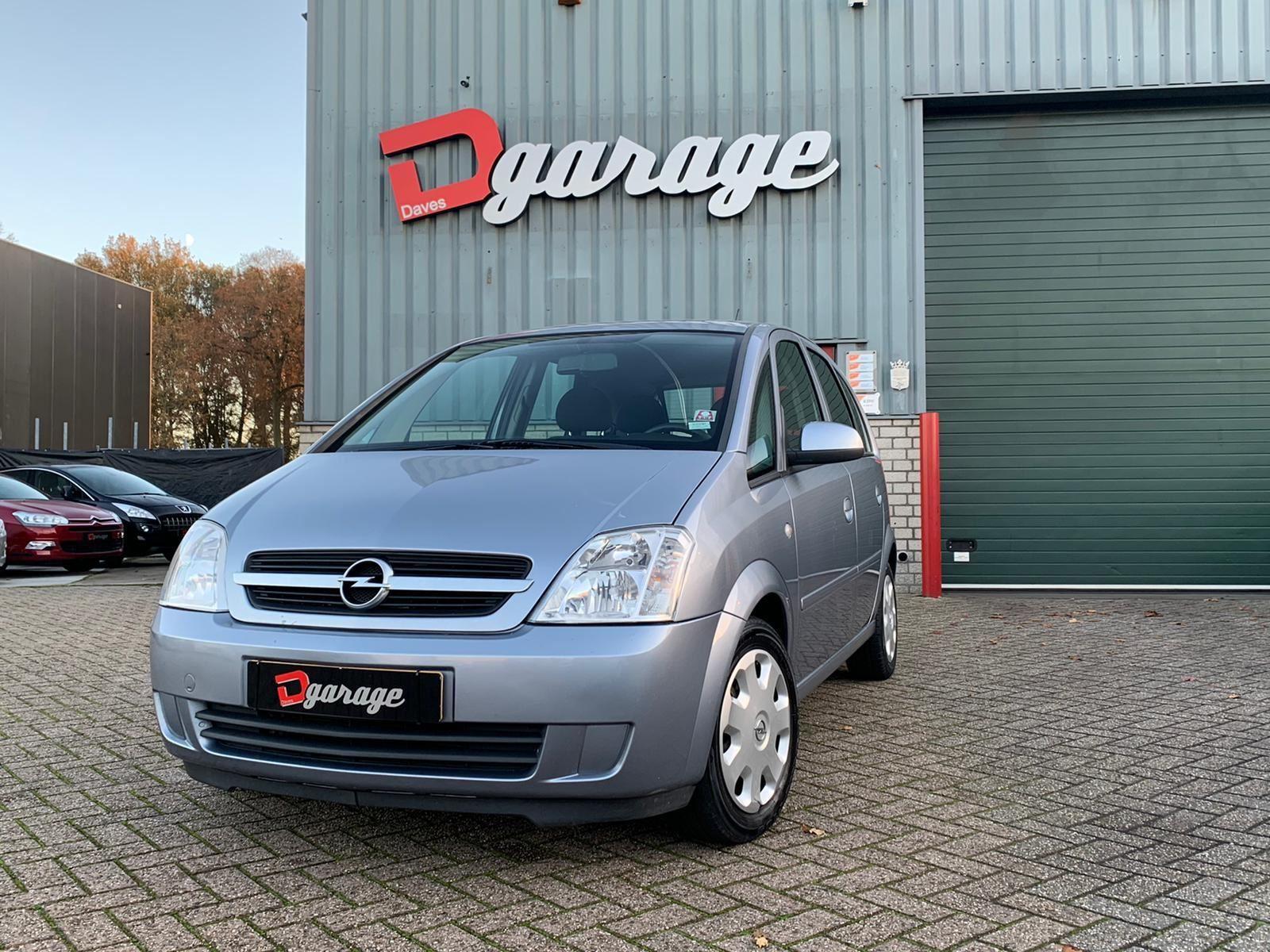 Opel Meriva occasion - Dave's Garage