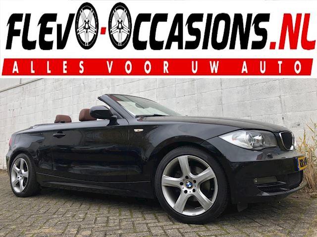 BMW 1-serie Cabrio 118d High Executive Cabrio NWE APK NAVI Airco Leer Trekhaak