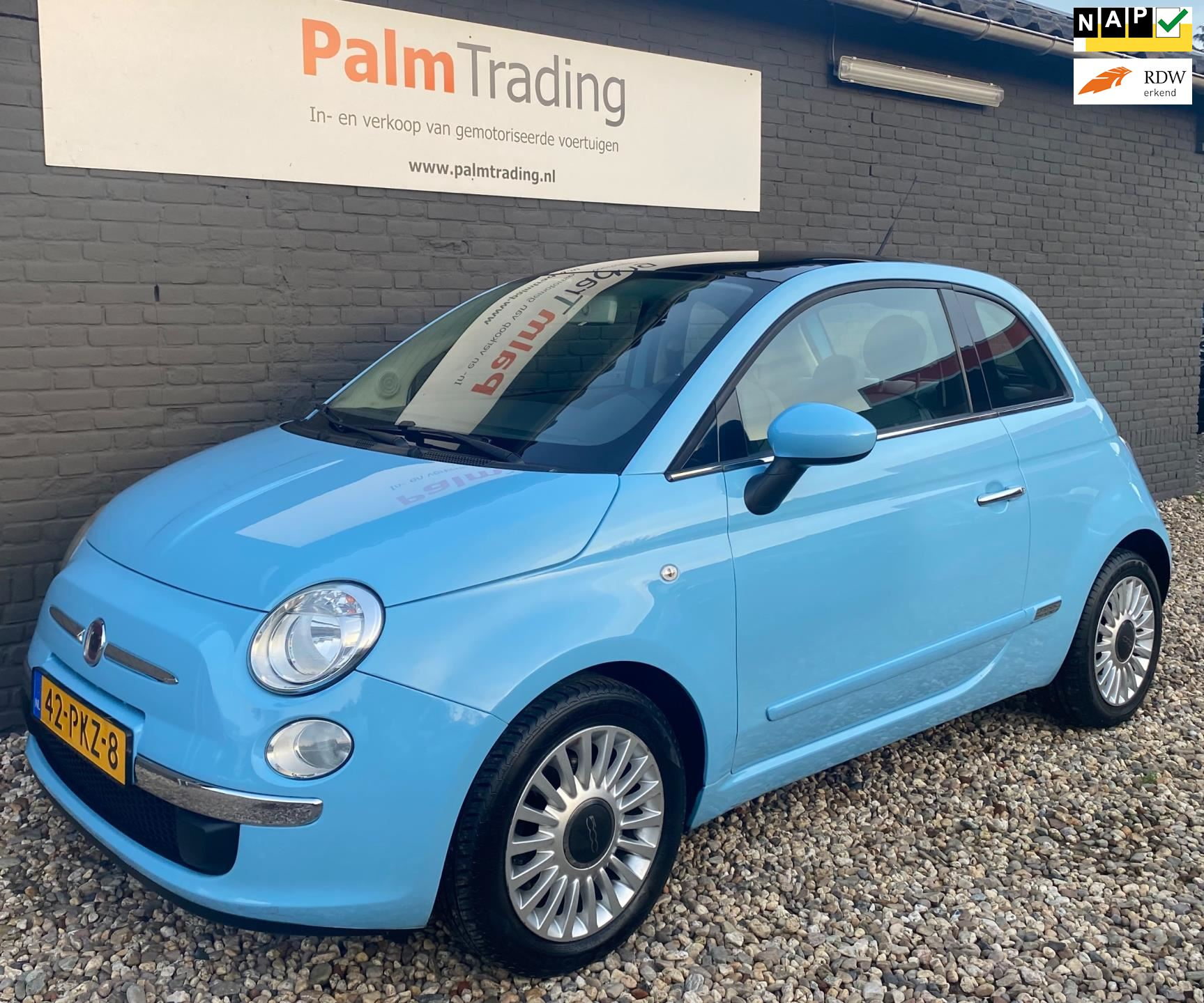 Fiat 500 occasion - Palm Trading