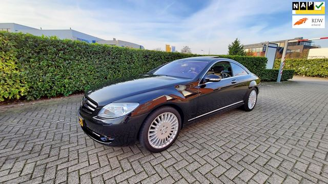 Mercedes-Benz CL-klasse 500 Schuifdak Night Vision NAP Carpass 388pk Navi Stuntprijs!