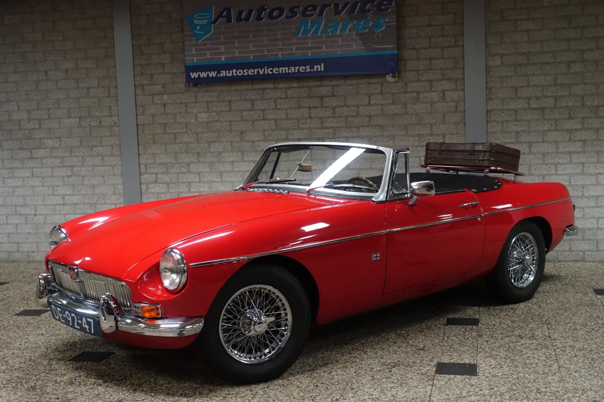 MG B type occasion - Autoservice Mares