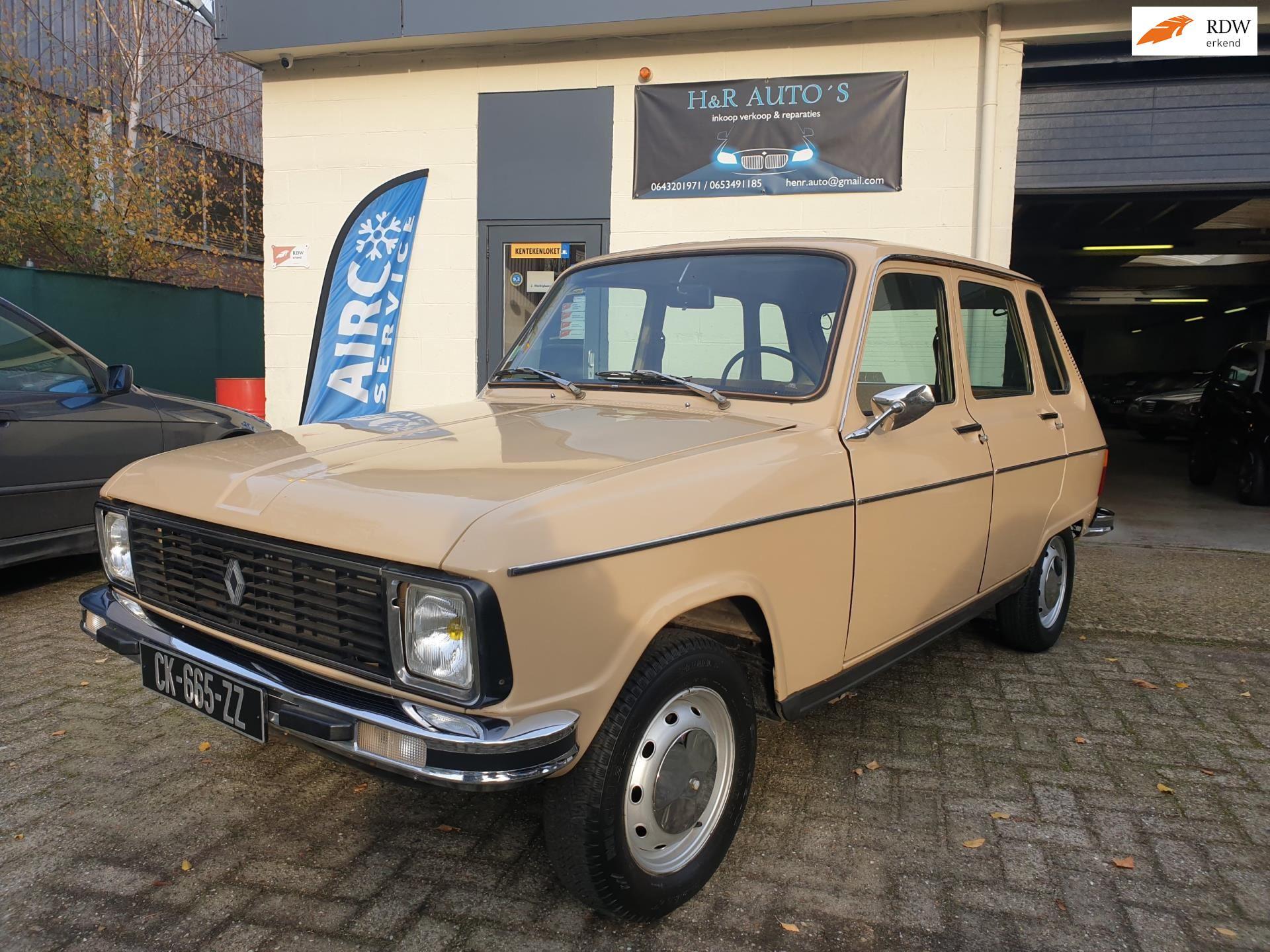 Renault 6 occasion - H&R Auto's