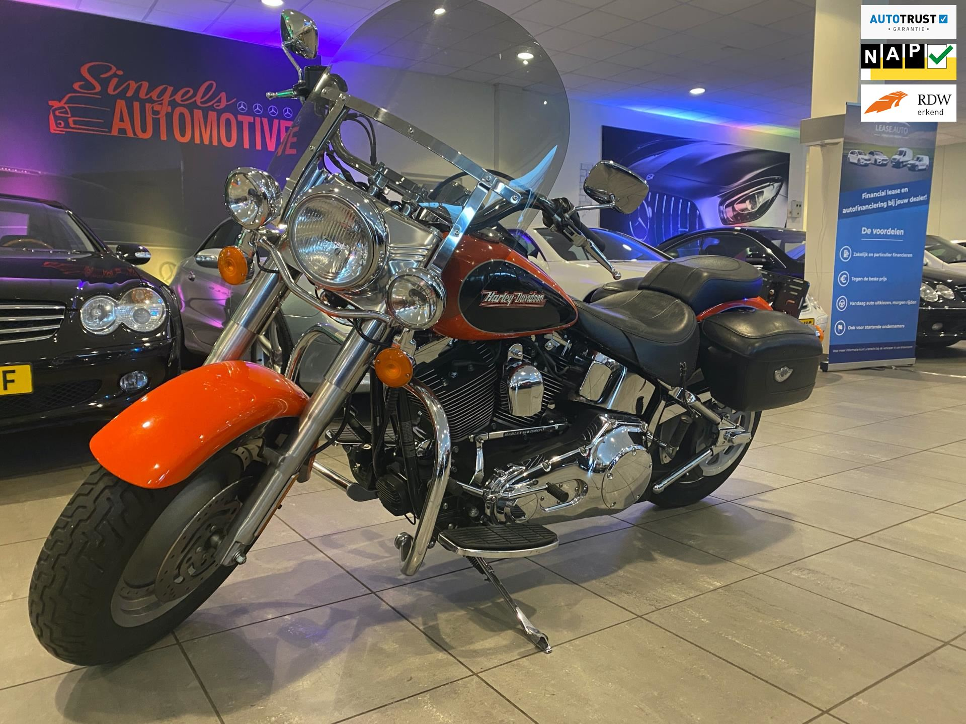Harley Davidson Chopper occasion - SINGELS AUTOMOTIVE