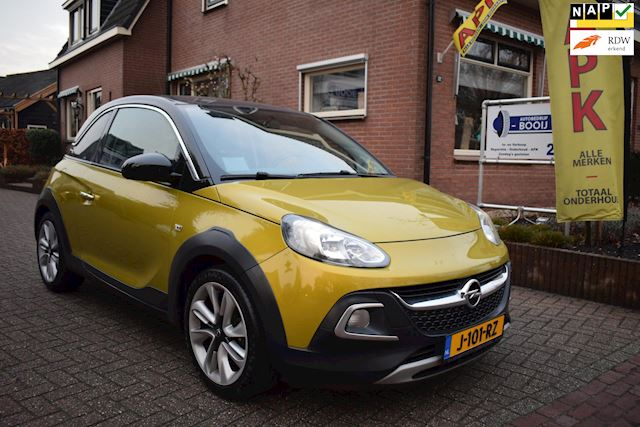 Opel ADAM 1.0 Turbo Rocks/AIRCO/CRUISE/NAVI/PDC/6 BAK/17 INCH/NETTE STAAT!
