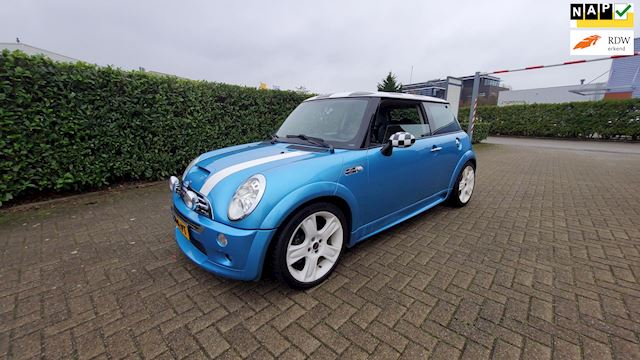 Mini Mini 1.6 Cooper S 105000km NAP Chili Facelift Works 170pk Leder Clima Youngtimer